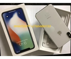 Apple iPhone X 64GB....$480 iPhone 8 64GB...$400  iPhone 7  32GB ..$300